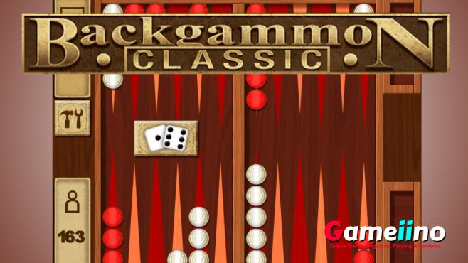 Roll the dice and enjoy our Classic backgammon board game. This classic board game is one of our best backgammon games followed by backgammon rules. - image - Gameiino.com