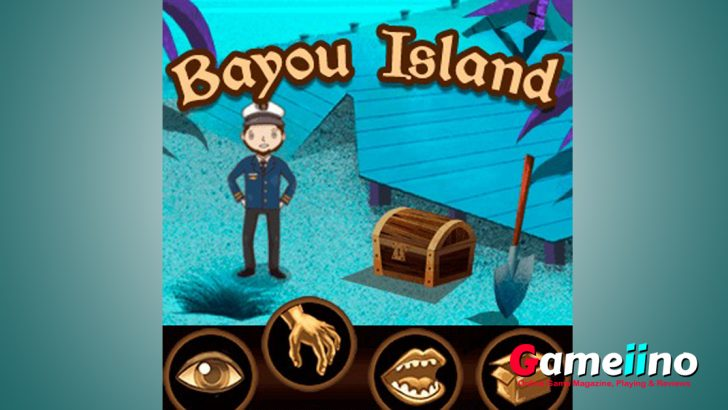 bayou island point and click adventure games free is a beautiful game. The tragic fate of the ship's captain! Help him find his way - image - Gameiino.com
