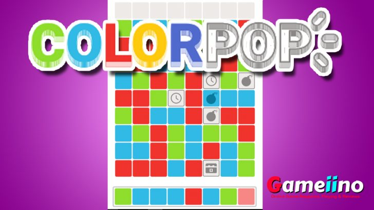 Colorpop Tap and pop same-colored groups of blocks in this highly addictive Match 3 game! - Image - Gameiino