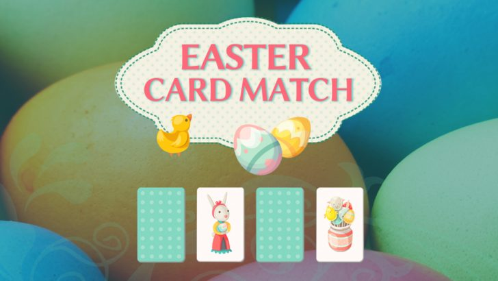 Easter Card Match Train your brain with this cute Easter-themed puzzle - Gameiino