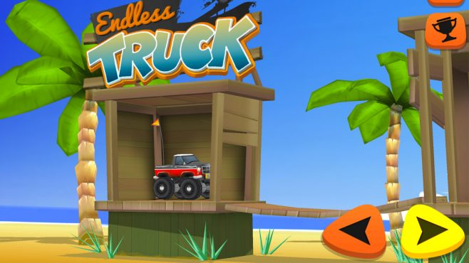 Endless Truck Prove your driving skills in this highly addictive stunt game! - Image - Gameiino.com