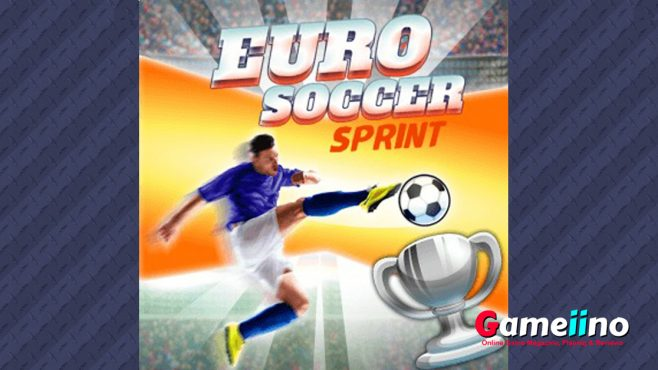 Euro Soccer Sprint2 Take part in the race for the Euro 2016 soccer trophy and compete against players from all over the world! - Image - Gameiino