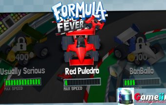 Formula fever Push the pedal to the medal! In this cool racing game you can totally satisfy your need for speed! Race against opponents, earn prize money and buy new cars and tracks - Image - Gameiino.com