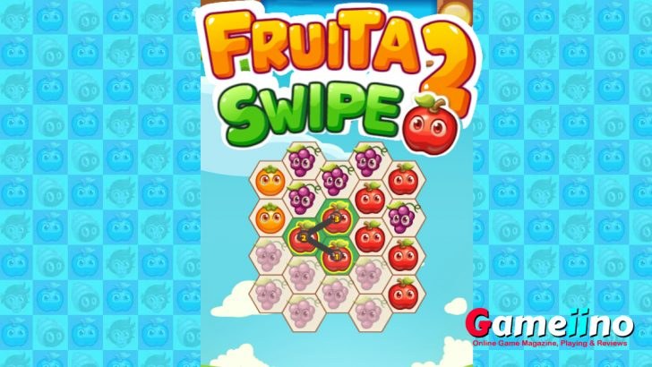 Fruita Swipe 2 Match 3 Game- Gameiino
