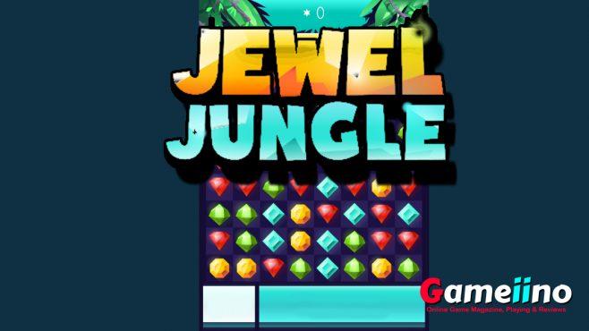 Jewel Jungle Match 3 Game - Gameiino