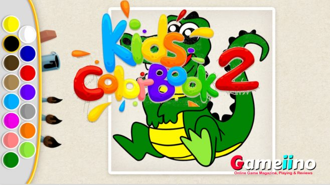 Kids Color Book 2 Puzzle Game - Gameiino
