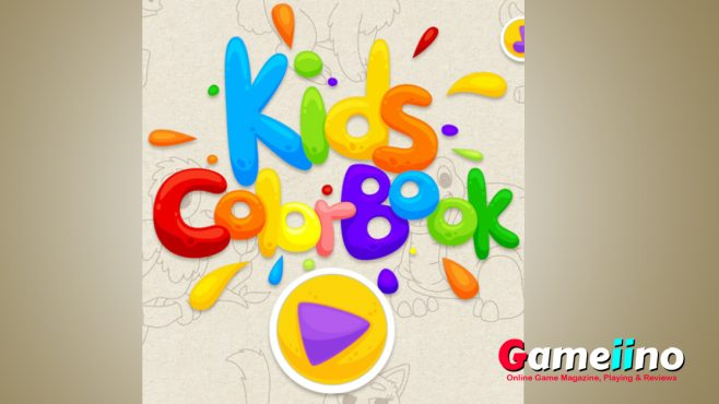 Kids Color Book Color your favorite animals! This fun educational game aids children train their coordination skills - Gameiino