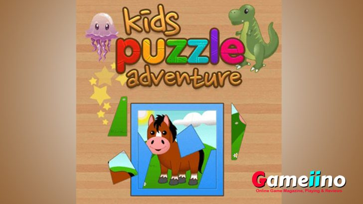 Kids Puzzle Adventure Go with us on a puzzle journey! - Gameiino