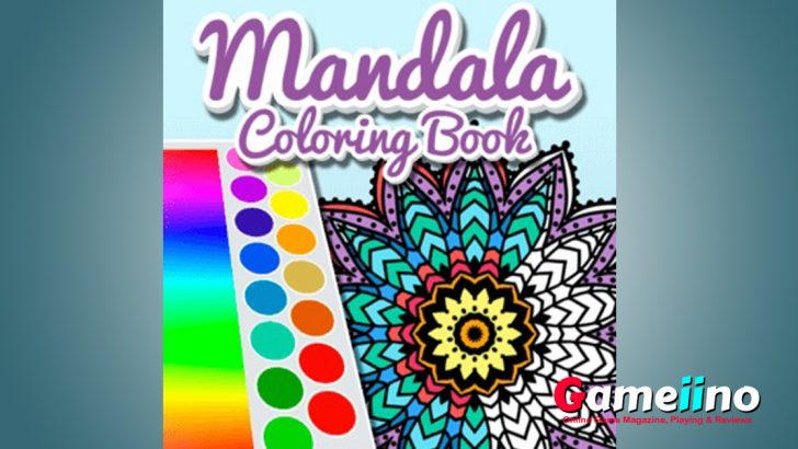 Mandala Coloring Book Mandala Coloring Book is the perfect game for adults and children to relax and have fun - Gameiino