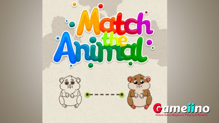 Match The Animal this game is perfect for children to practice color and shape recognition! - Image - Gameiino
