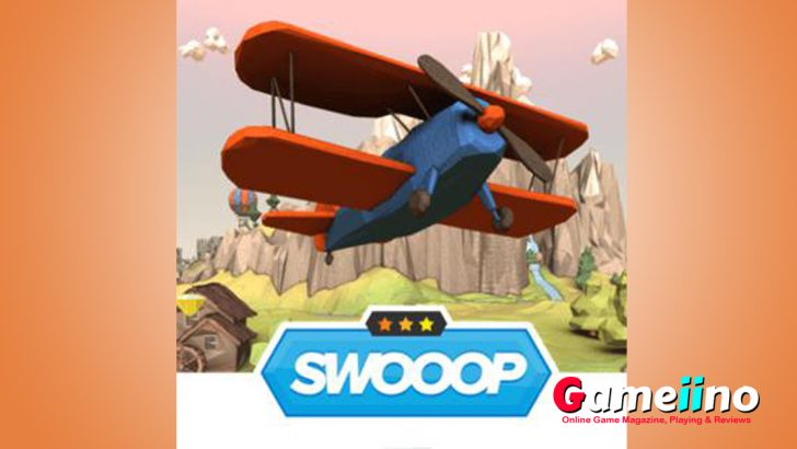 Jump in your biplane and discover Swoop kids games. Collect gems, stars, wrenches and avoid the clouds to become a real score hero in the freegames! - image - Gameiino.com