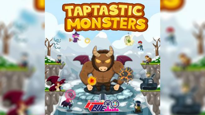 Tap on the screen to attack Scary monsters world clicker game, hire sidekick heroes and earn gold and diamonds to upgrade your skills further and further. - image - Gameiino.com