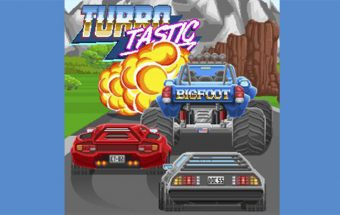 Turbotastic Racing Game Turbotastic is a magnificent retro looking racing game - Image - Gameiino.com