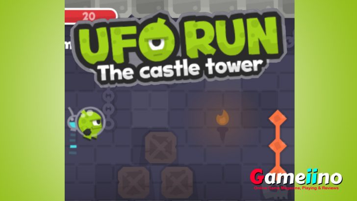 Collect precious stars, avoid deadly spikes, level up your brave green hero and earn points for your high score. Castle tower UFO mystery games is so cool. - image - Gameino.com