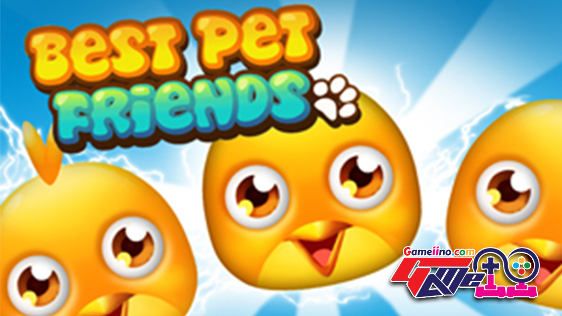 Best Pet Friends: match 3 games Cool best matching