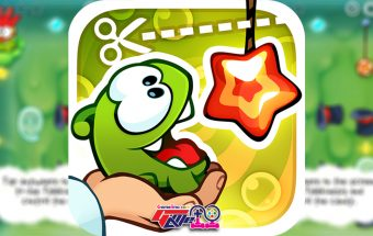 The little green monster Om Nom is back and hungrier than ever ZeptoLab:Cut the Rope Experiments candy loving