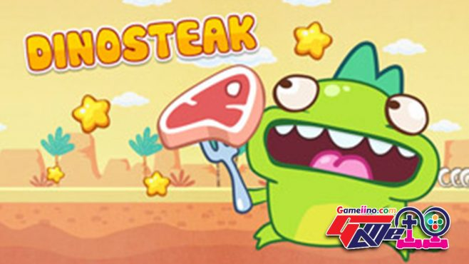Play Dino Steak and collect as much of tasty the food as possible in this puzzle game!