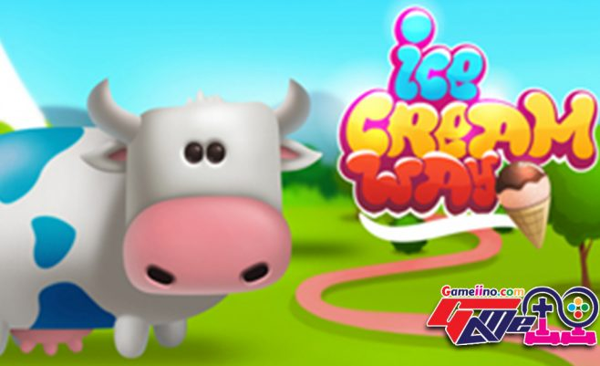 In Ice Cream Puzzle Game Match3 you need to combine resources with the popular match 3 puzzle Ice cream games rules to achieve well score. - image - Gameiino.com