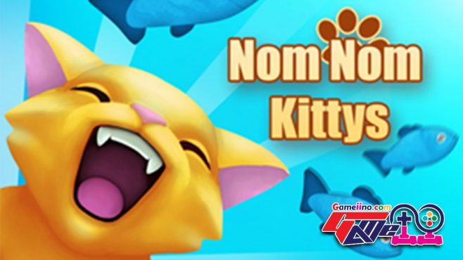 nom-nom-kitties Give this hungry cats a helping hand and feed some delicious fish!