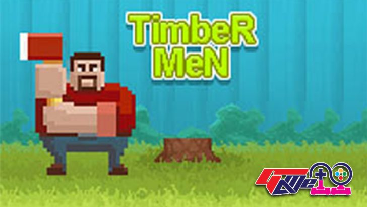 Lumberjack timberman wood cutting game is a wonderful online game for you to collect firewood for the coming snowfalls of winter. - image - Gameiino.com