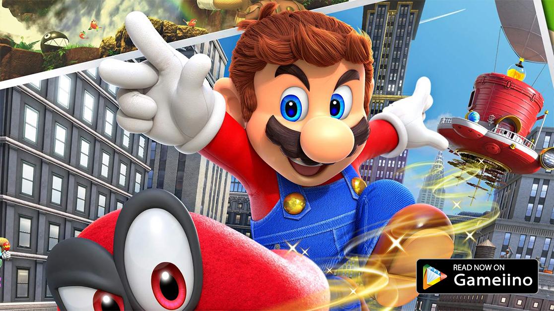 Super Mario Odyssey - Gameiino