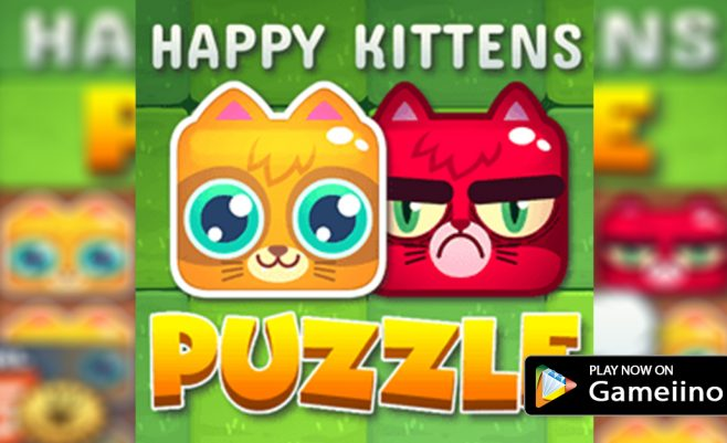 Happy-Kittens-Puzzle-play-now-on-gameiino