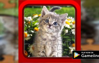 Jigsaw-Puzzle-Cats-play-now-on-gameiino