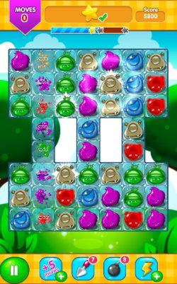 monster Crush Match 3 Screenshot 1 - Gameiino