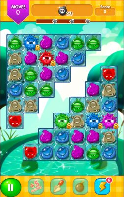 monster Crush Match 3 Screenshot 3 - Gameiino