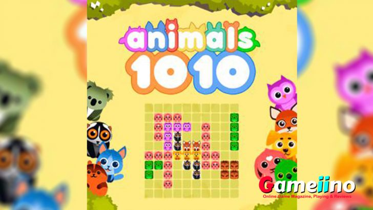 1010 Animals is an addictive puzzle game! - Gameiino