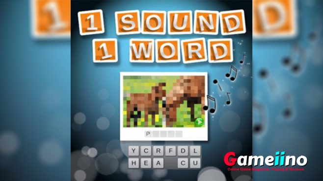 1 Sound 1 Word Teaser Listen up! In this fun quiz game it's all about your ears - image - Gameiino.com