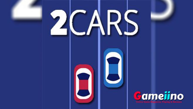 2 Cars Teaser This new car and racing game is a challenge for your reactions! You need to constantly switch lanes on two streets with two different cars - image - Gameiino.com