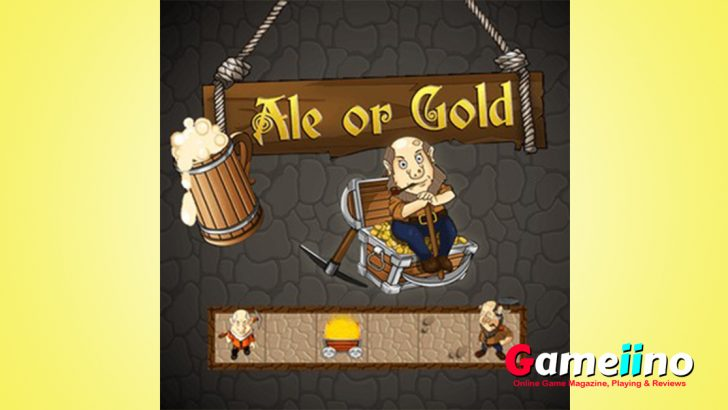 Ale or Gold Deep in the mines, there is a little leprechaun digging for gold - Gameiino