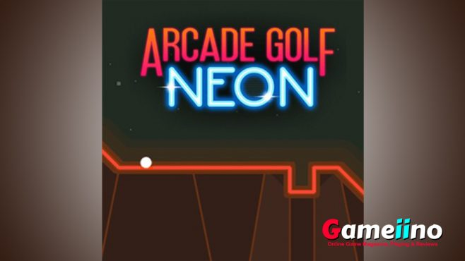 Become king of the swing in this minimalist golf game in retro design! - Gameiino