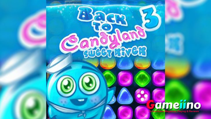 After the hills it's time to visit the sweet rivers of Candyland and its addictive levels! - Gameiino