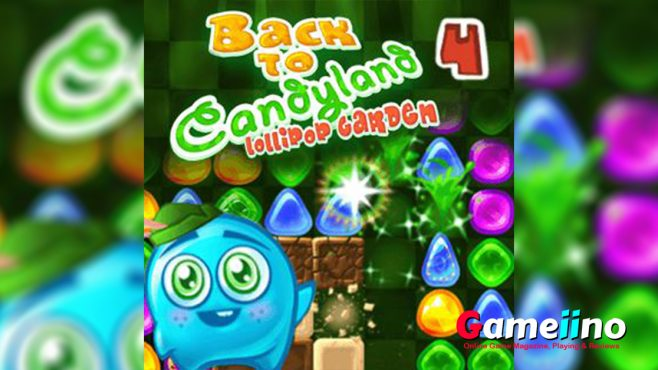 In this new journey you will visit the lollipop garden. - Gameiino