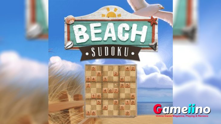 Beach Sudoku Teaser Train your brain with one of the most popular puzzle games of all time! - image - Gameiino.com