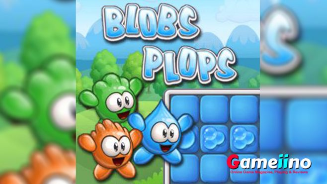 Blobs Plops Teaser Blobs Plops is a fun logic puzzle where you have to explode blobs of water - Gameiino