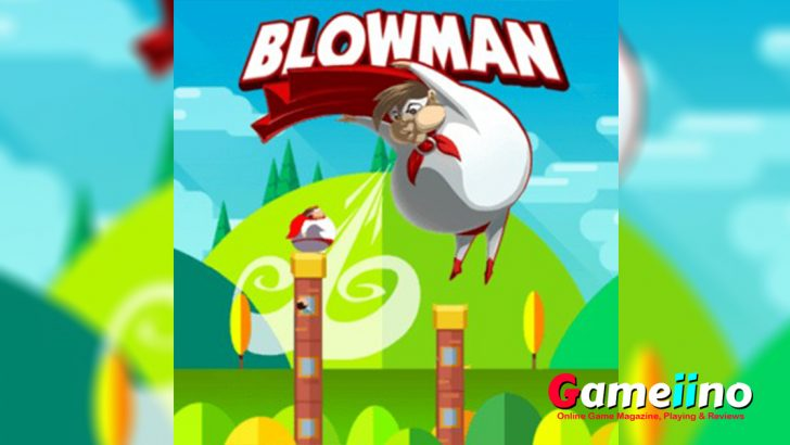 Blowman Fight against evil beans in this fun skill game! - Gameiino