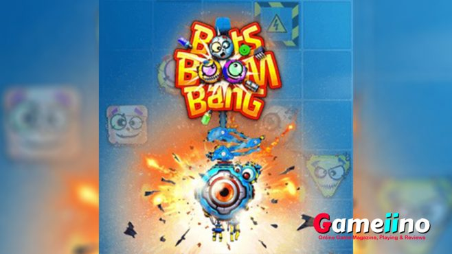 Bots Boom Bang Teaser Help the bots find each other in this funky logic puzzle! Explore the crazy world of bits & bytes and try to complete 150 challenging levels - image - Gameiino.com