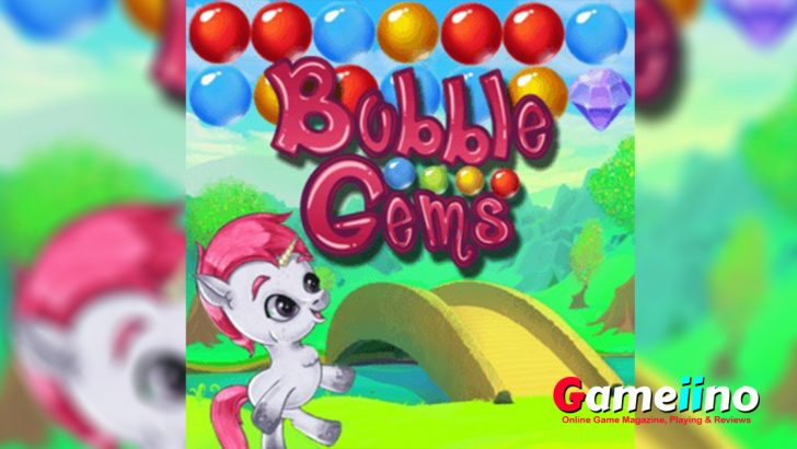 Help the cute unicorn Una to collect all gems! - Gameiino