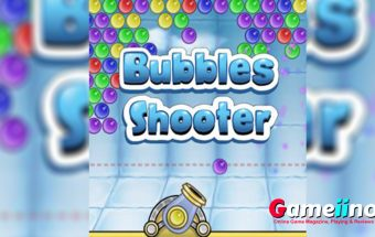 Bubbles Shooter Teaser Your task in this fun bubble shooter is to match at least 3 bubbles of the same color - image - Gameiino.com