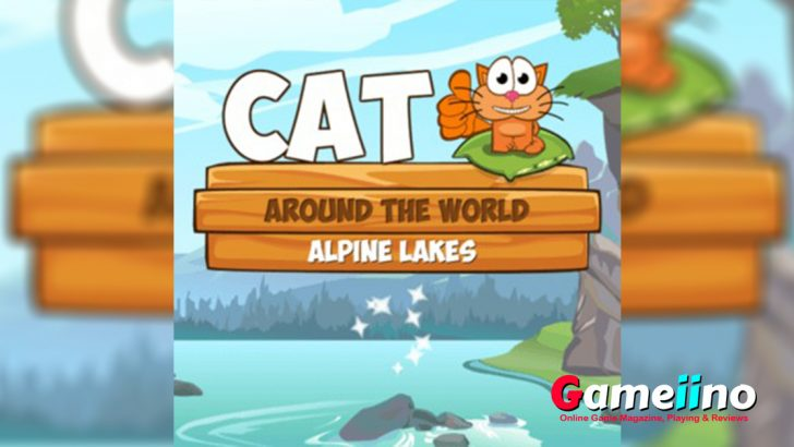 Cat Around The World TeaAlways on the move! Being a true cosmopolitan and gourmet, in this cute physics puzzle the cat travels to the alpine lakes region to taste the world's best salami and admire the beautiful landscape - image - Gameiino.com
