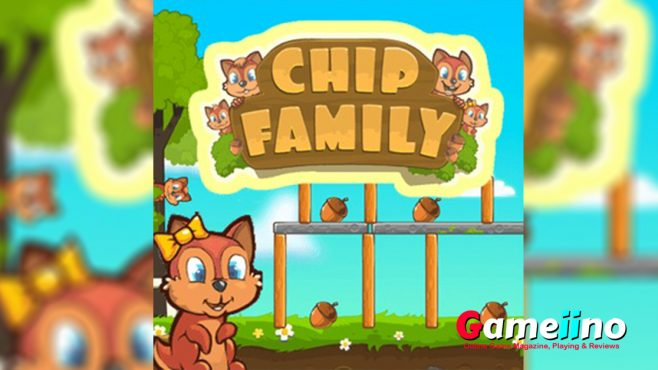 Meet the chipmunks Bob, Marge, Steven and Alice! - Gameiino