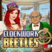 Clockwork Beetles Teaser In this addictive Steampunk Match3 game your task is to repair as many beetles as possible within the given time - image - Gameiino