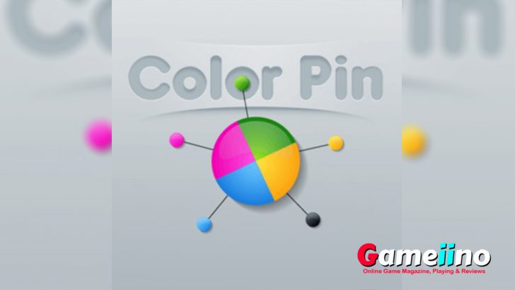 Color Pin Teaser Timing is crucial in this addictive arcade game: wait for the perfect moment and shoot pins into the rotating ball - image - Gameiino.com