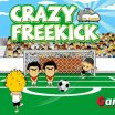 Pick your favorite soccer team and get ready for some free kick action! - Gameiino