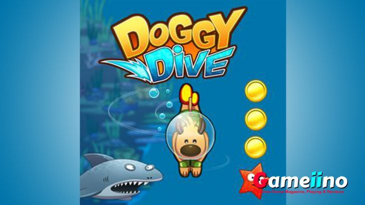 Discover a fantastic underwater world in Doggy Dive! - Gameiino