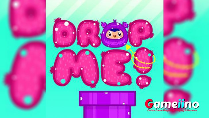 Drop Me Teaser Drop Me is a colorful cute puzzle game for young and old - image - Gameiino.com