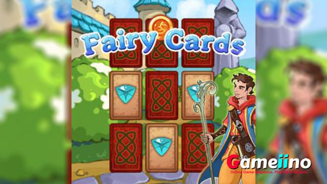 Fairy Cards Teaser Fairy Cards invites you on a magical journey where your task is to find identical cards - Image - Gameiino